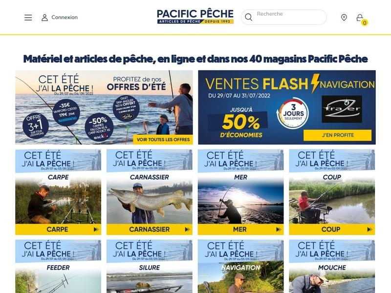 Screenshot von http://www.pacificpeche.com/