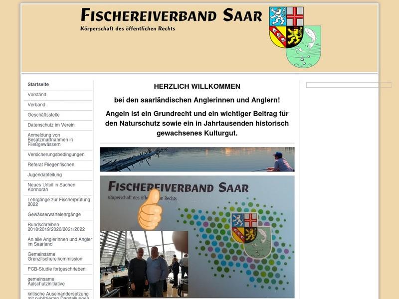 Screenshot von https://www.fischereiverband-saar.de/